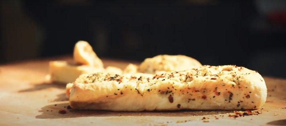 Merklinger Holzbackofen Grill Pizzaofen Brotbackofen Rezept Zwiebel Rosmarin Focaccia