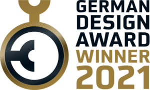 Merklinger Holzbackofen Grill Pizzaofen Brotbackofen German Design Awards 2021 Logo